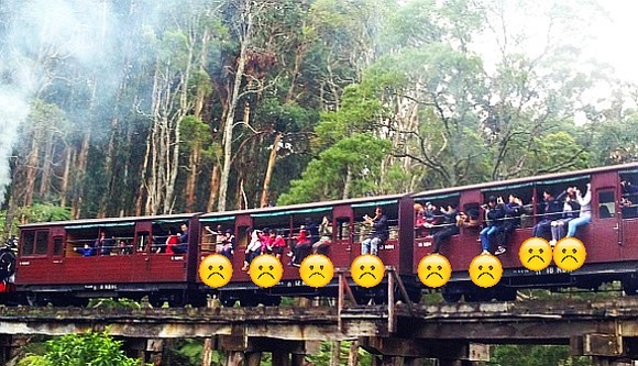 Puffing Billy No Legs