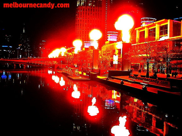 crown casino fireballs