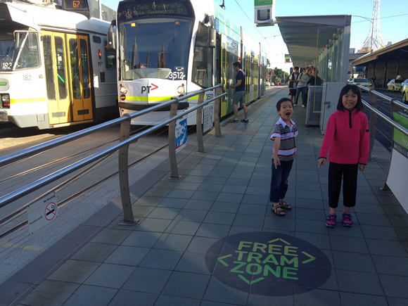 Melbourne Free Tram Zone Floor