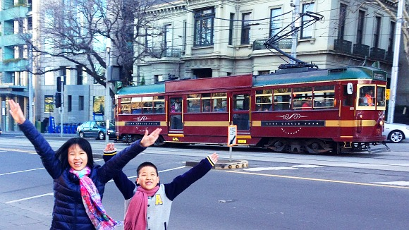 melbourne free city circle tram
