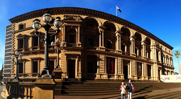 melbourne old treasury building
